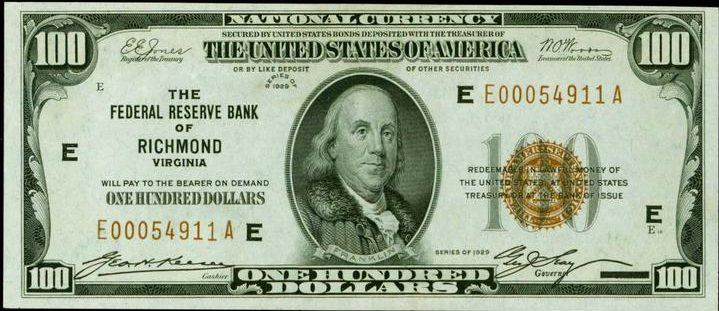 Old One Hundred Dollar Bills - Values and Pricing | Sell Old