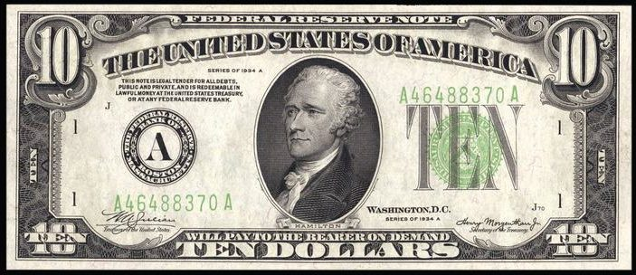 We Are Also Buying 1934a Ten Dollar Star Notes If You Have Something You Think We Would Be Interested In Then Please Send Us An Email And Tell Us About It