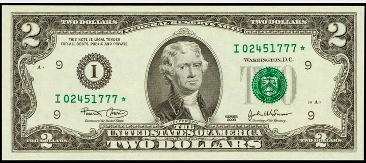 Lot of 5 2003 $1 One Dollar Richmond Star Note Fr 1928-E* UNC Consecutive SN